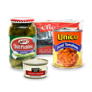 Canned & Dried Foods