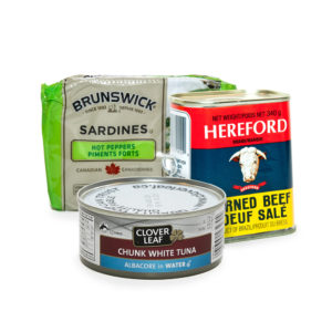 Canned Meat, Fish & Seafood