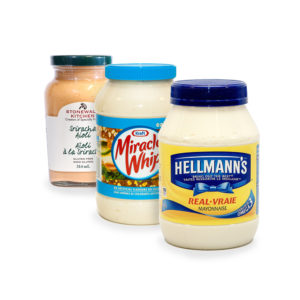 Mayonnaise & Whipped Dressings