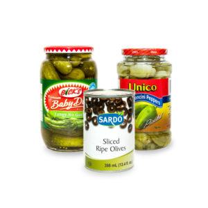 Olives & Pickled Foods