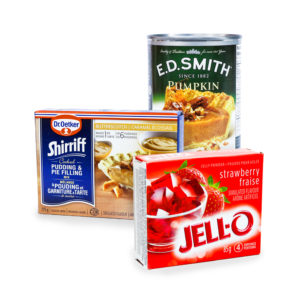 Fillings, Pudding & Jelly Mixes