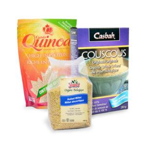 Quinoa, Couscous & Other Grains