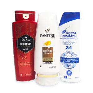Shampoo, Conditioner & Body Wash